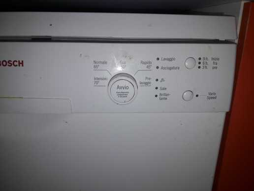 lavastoviglie bosh