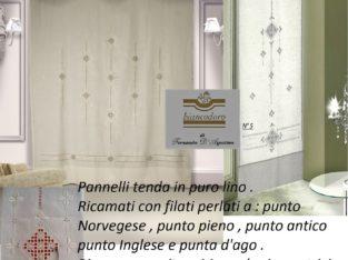PANNELLI TENDA IN PURO LINO