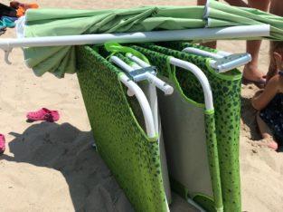 Lettini mare ed ombrellone a Porto Cesareo