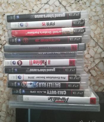 PlayStation 3 con giochi