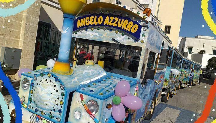 Trenino Turistico Castro Angelo Azzurro Salento