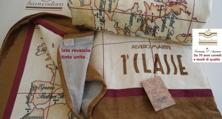 Teli spugna ALVIERO MARTINI 1^ CLASSE unisex